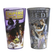 Star Wars® Episode VI and Empire Strikes Back 2-pc. Pint Glass Set