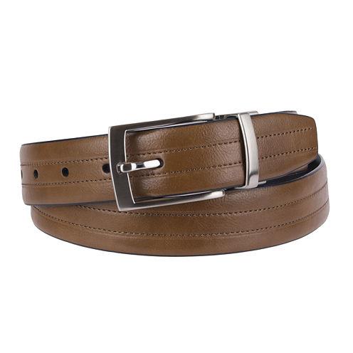 Stafford® Feather Edge Reversible Belt - Big & Tall