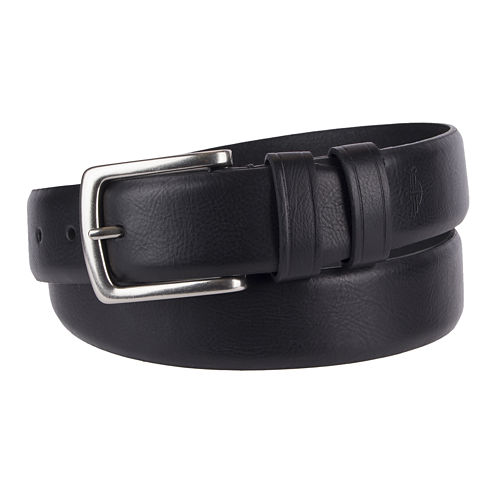 Dockers® Feather Edge Belt with Heat Creased Keepers