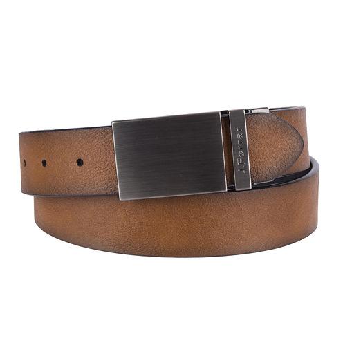 JF J. Ferrar® Reversible Plaque Buckle Belt - Big & Tall