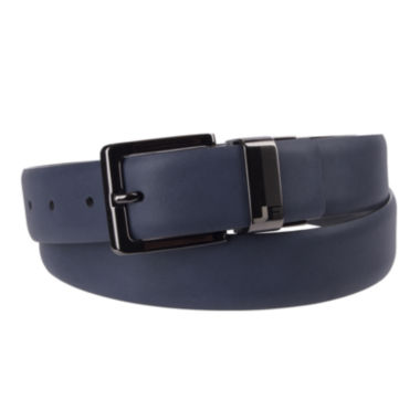 jcpenney.com | JF J. Ferrar® Feather Edge Reversible Belt with Laser Engraved Buckle