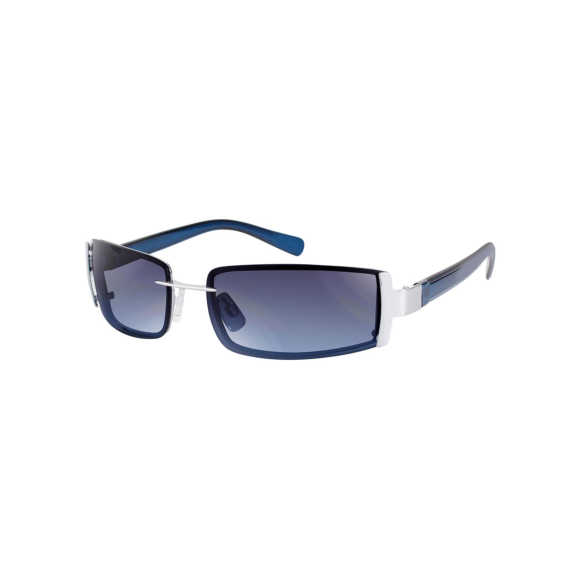 Arizona Silver Semi-Rimless Sunglasses