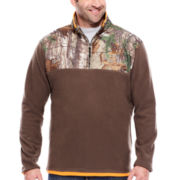 Realtree® Long-Sleeve Microfleece Quarter Zip Shirt
