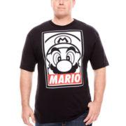 Super Mario Bros.™ Obey  Tee - Big & Tall