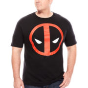 Mad Engine Short-Sleeve Deadpool Tee - Big & Tall