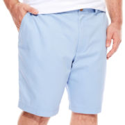 IZOD® Saltwater Flat-Front Shorts - Big & Tall
