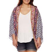 Arizona Circled Kimono - Juniors Plus