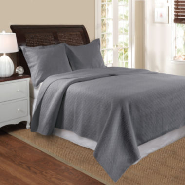 jcpenney.com | Greenland Home Fashions Vashon Diamond Quilt Set