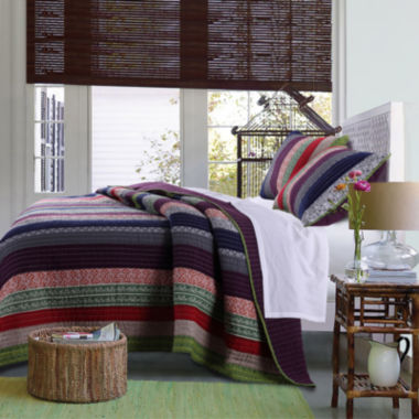 jcpenney.com | Greenland Home Fashions Marley Bohemian Striped Quilt Set