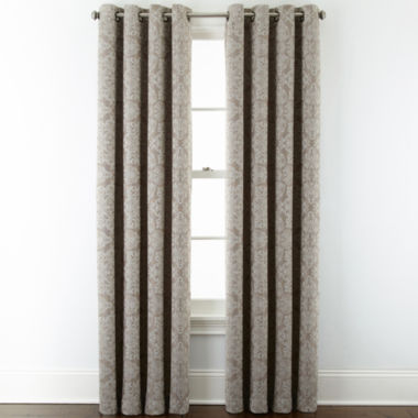jcpenney.com | JCPenney Home™ Addison Blackout Grommet-Top Curtain Panel