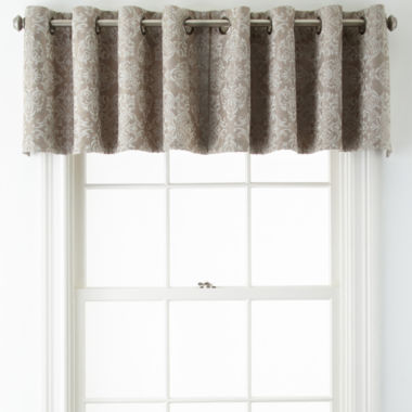 jcpenney.com | JCPenney Home™ Addison Blackout Grommet-Top Tailored Valance