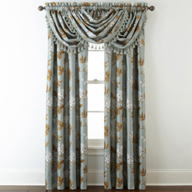 jcpenney.com | Home Expressions™ Isabelli Faux Silk Rod-Pocket Window Treatments