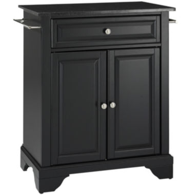 jcpenney.com | Chatham Small Black-Granite-Top Portable Kitchen Island