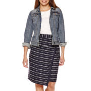 Liz Claiborne® Denim Jacket, Top or Skirt