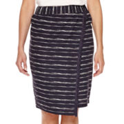 Liz Claiborne® Wrap Midi Skirt