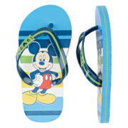 Disney Collection Mickey Mouse Flip Flops - Boys