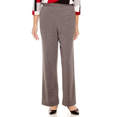 jcpenney.com | Alfred Dunner® Madrid Pull-On Ponte Knit Pants