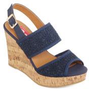 Pop Eugena Wedge Sandals