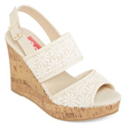 Pop Eugena Wedge Sandals