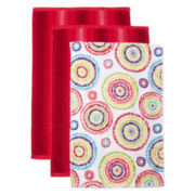 JCPenney Home™ Set of 3 Kitchen Towels
