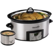 Crock-Pot® 6-Qt. Slow Cooker & Little Dipper™ + $5 Printable Mail-In Rebate