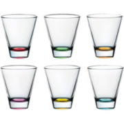 Confetti Set of 6 Double Old-Fashioned Glasses