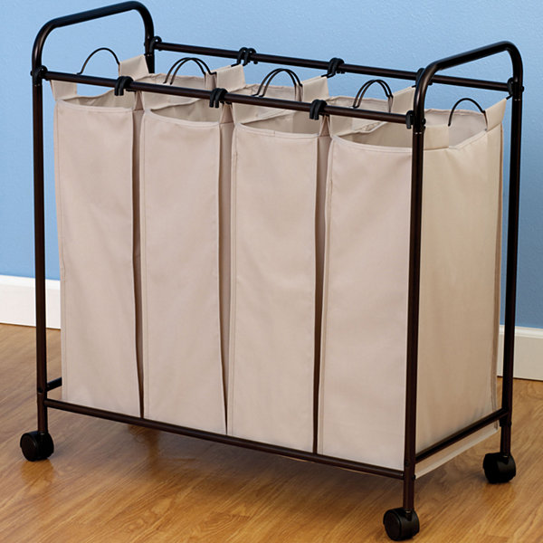 Jcpenney Wedding Gifts: Household Essentials® Antique Bronze Quad Laundry Sorter