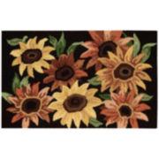Nourison® Sunflower Utility Rectangular Rug