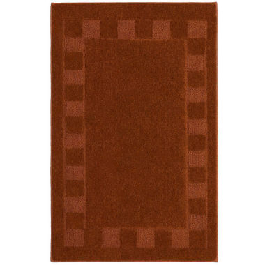 jcpenney.com | Border Squares Washable Rectangular Rug