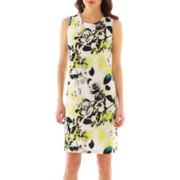 Worthington® Sleeveless Print Shift Dress