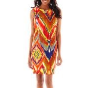 Alyx® Sleeveless Print Sheath Dress