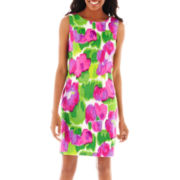 Alyx® Sleeveless Print Sheath Dress