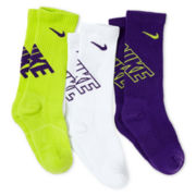 Nike® 3-pk. Performance Crew Socks - Boys