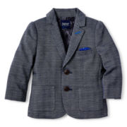 Baker by Ted Baker Herringbone Blazer - Boys newborn-24m