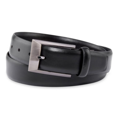 jcpenney.com | Van Heusen® Black Leather Belt–Big & Tall