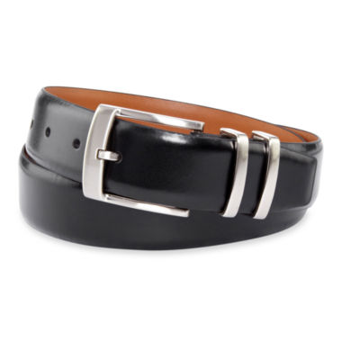 jcpenney.com | Van Heusen® Black Leather Belt