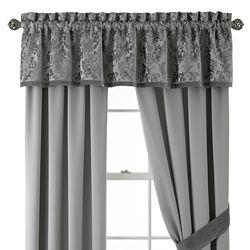 Royal Velvet® Zinnia Curtain Panel Pair