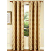 Canyon Leaves Grommet-Top Curtain Panel