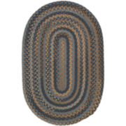 Greenbrier Reversible Braided Wool Oval Rugs