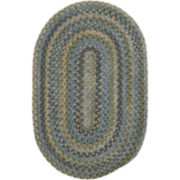 Greenbrier Reversible Braided Wool Oval Rug