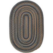 Greenbrier Reversible Braided Wool Oval Rug