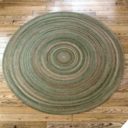 Greenbrier Reversible Braided Wool Round Rug