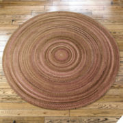 Greenbrier Reversible Braided Wool Round Rugs