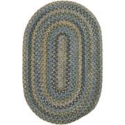 Greenbrier Reversible Braided Wool Oval Runner Rugs