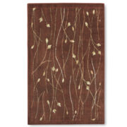 Nourison® Vines Rectangular Rugs