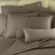 Royal Velvet® 400TC WrinkleGuard Quilted Pillow Sham