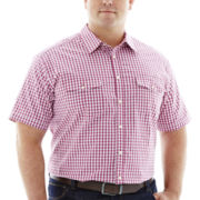 The Foundry Supply Co.™ Short-Sleeve Modern Woven Shirt–Big & Tall
