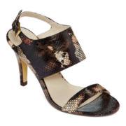 Diba® Berkley Banded Slingback Heeled Sandals
