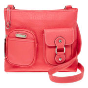 Rosetti® Ready to Roll Top-Zip Crossbody Bag