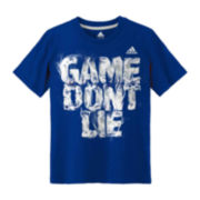 adidas® Short-Sleeve Knit Graphic Tee – Boys 8-20